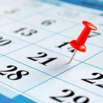 Calendário de Testes 2017 – Organização
