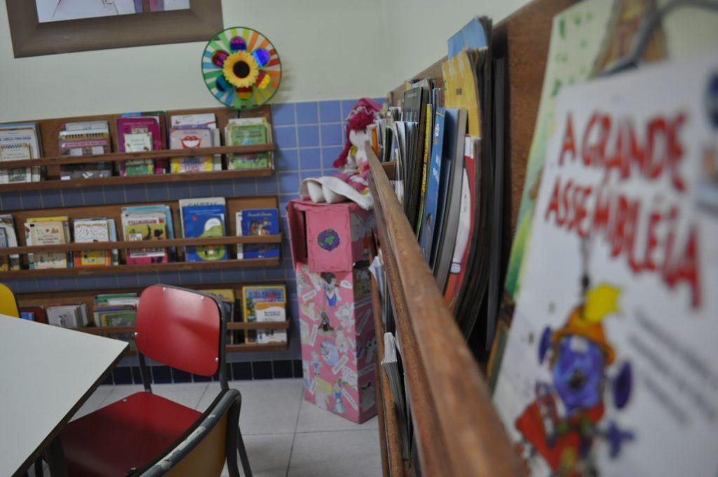 Sala de Leitura do Ens. Fund I.