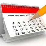 Calendário de Provas - Recuperação - Fundamental II.
